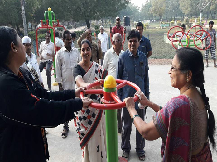 25 parks upgraded into fitness centres