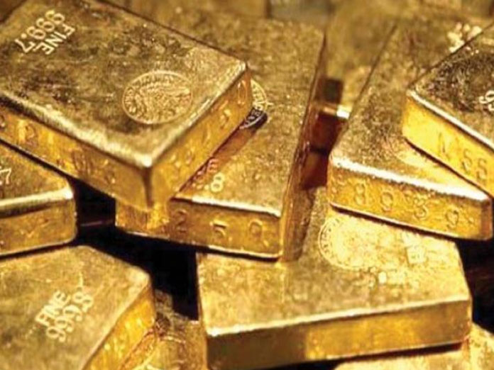 Gold rises for second day, silver gains