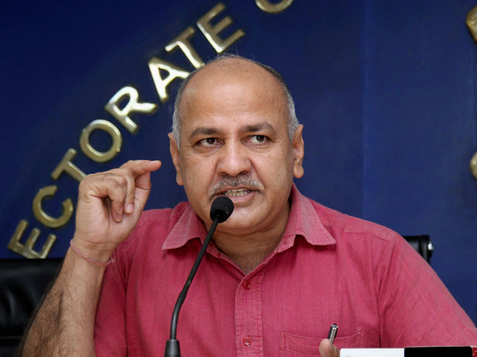 Manish Sisodia accuses BJP of exploiting traders through GST