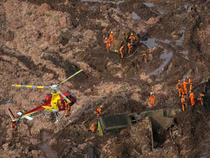 Hundreds missing in Brazil, 34 found dead, after Vale dam burst