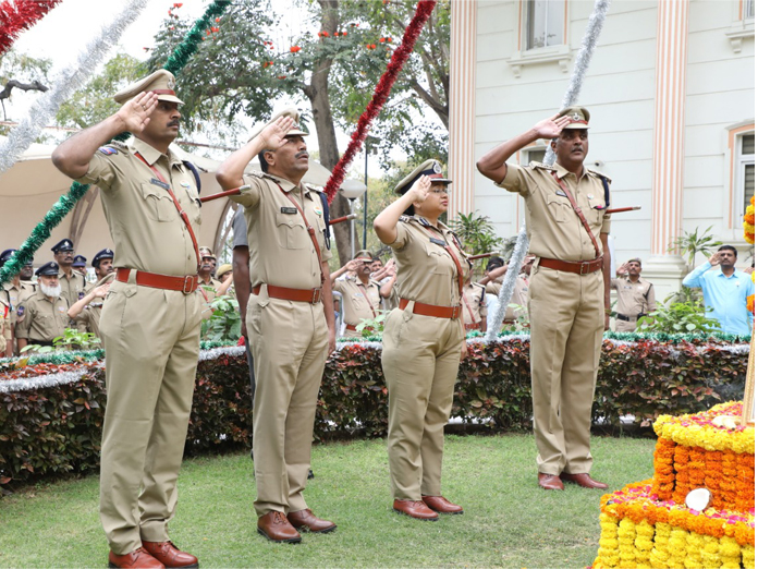 State DGP Office celebrates Republic Day with patriotic fervour