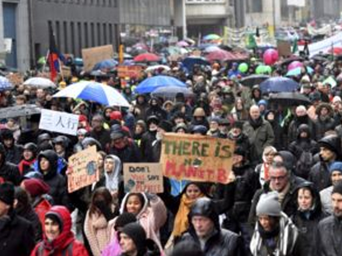 Some 70,000 Brussels protesters demand action on climate