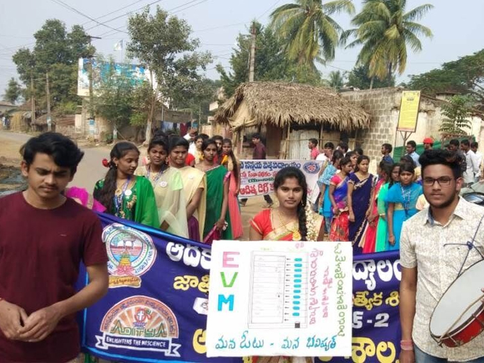 Awareness rally on Right to Vote organised
