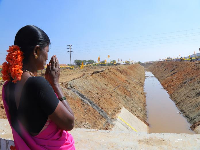 TDP expects return gift from happy Handri Neeva farmers