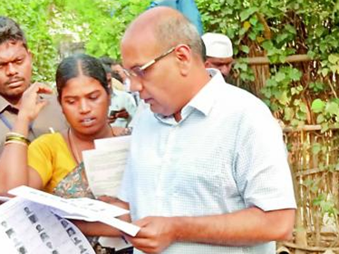 AP Chief Electoral Officer transferred