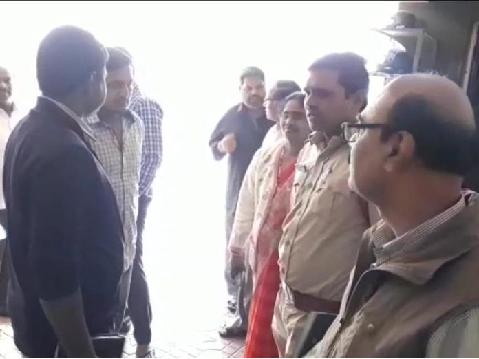 Education Department seized Sri Chaitanya School at DD Colony in Amberpet