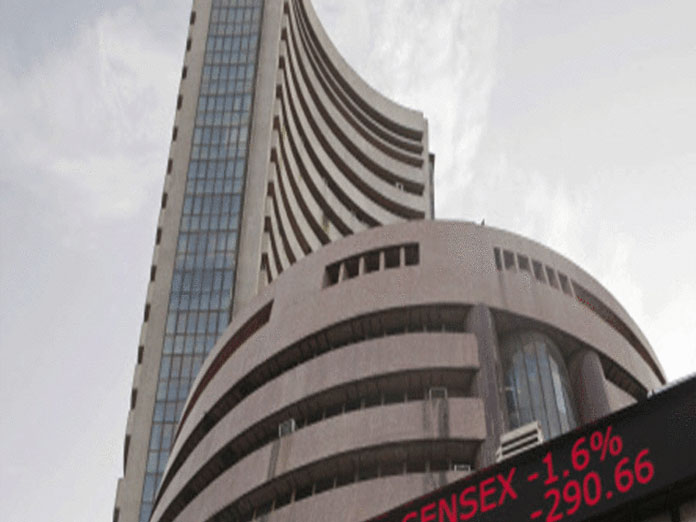 Sensex surges over 340 points on expectations of rate cut