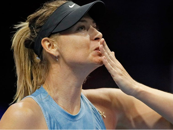 Sharapova wins her 1st WTA match in Russia in 13 years