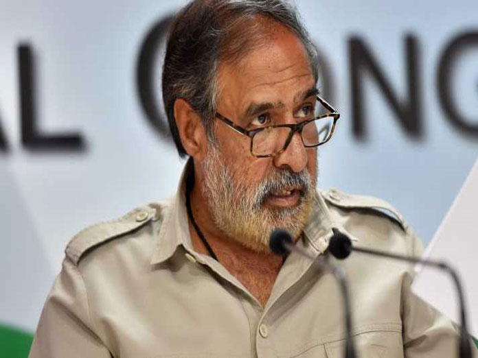 NCW notice to Rahul politically motivated: Anand Sharma