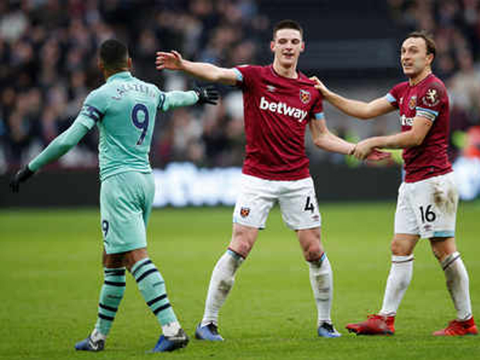 Declan Rice too hot for Arsenal