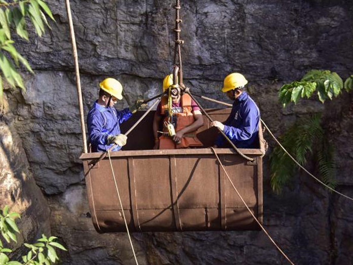 28 lakh litres pumped out of Meghalaya mine, still no change in water level