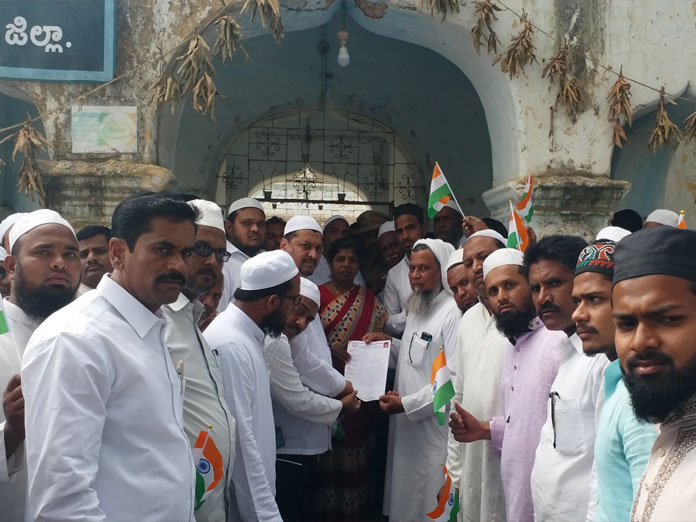 Muslims pay rich tributes to jawans