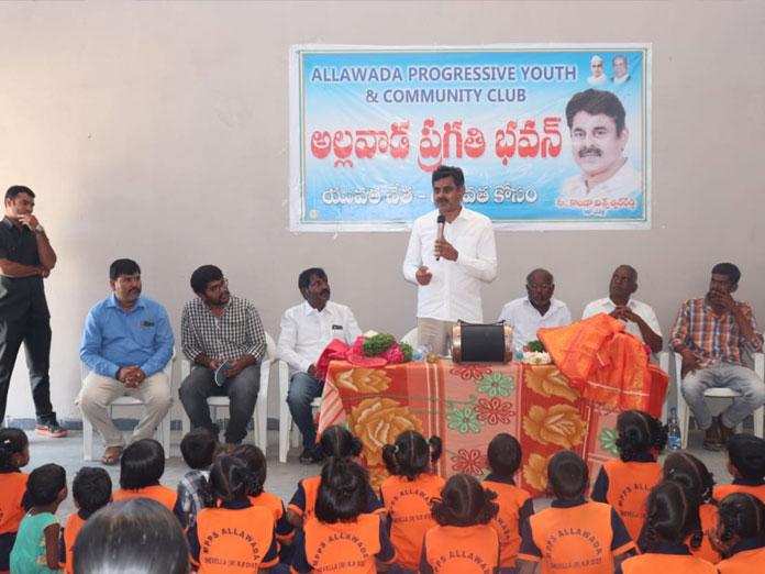 MP inaugurates Pragati Bhavan