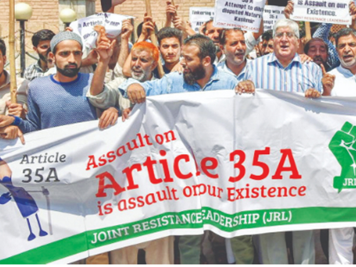 No change in stance on Article 35A: J&K govt