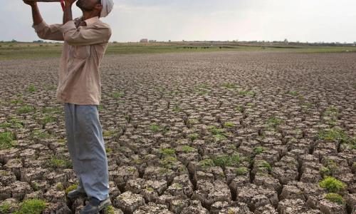 Dwindling farmlands of Anantapur