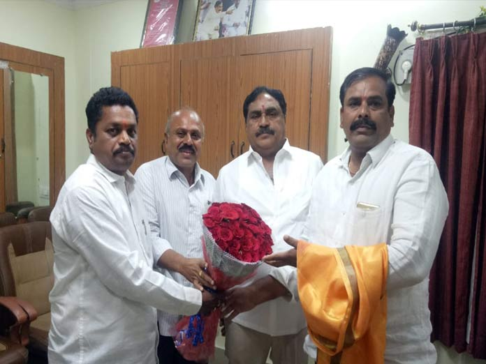 Newly-inducted ministers felicitated