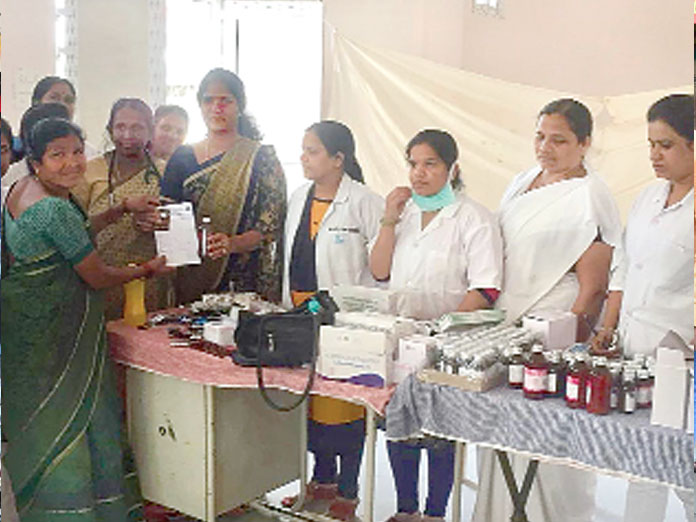 Free health camp conducted