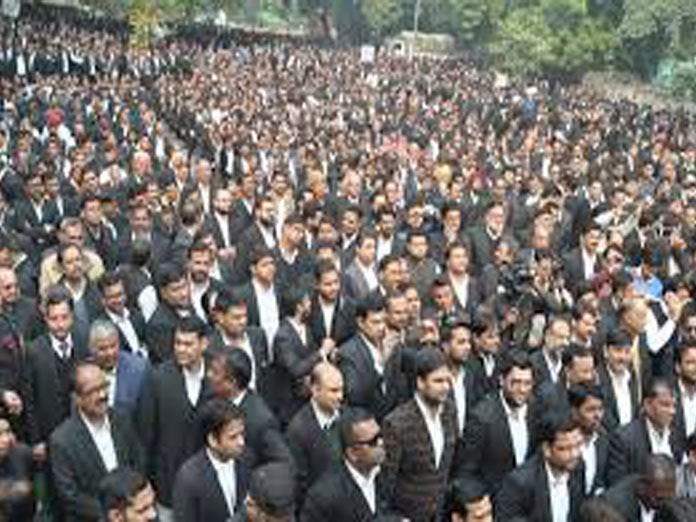 `50 cr for welfare of advocates sought