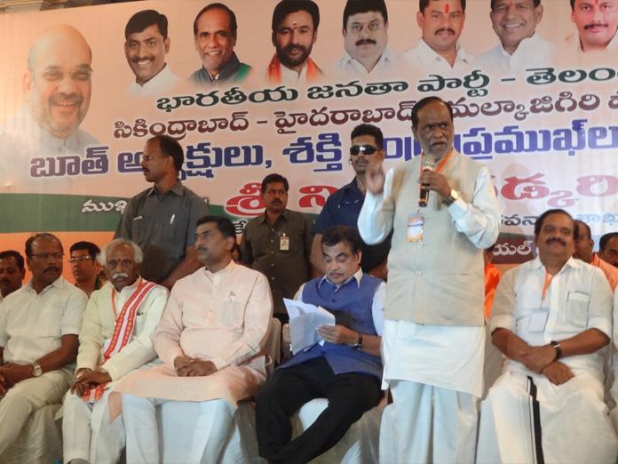 Gadkari warns party cadre against oppn propaganda
