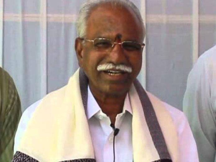 BJP senior leader Baddam Balreddy passes away
