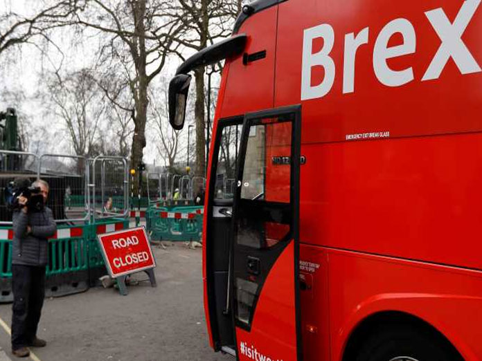 UK says Brexit defeat in parliament a hiccup