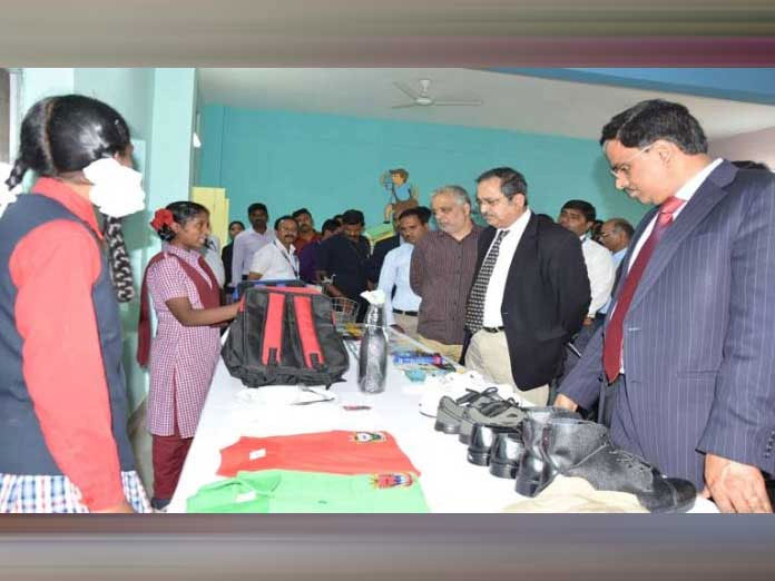 Chief Secretary visits Social Welfare Residential School
