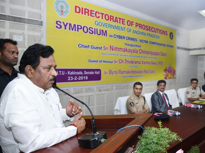 Coordinated efforts of  police, PPs needed: Dy CM N Chinarajappa