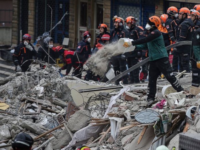 Istanbul building collapse: Death toll rises to 21