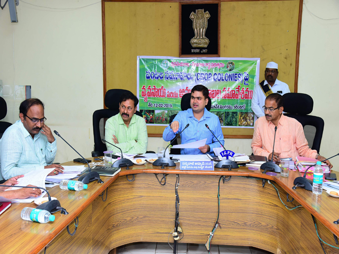 Survey for development of crop colonies ordered