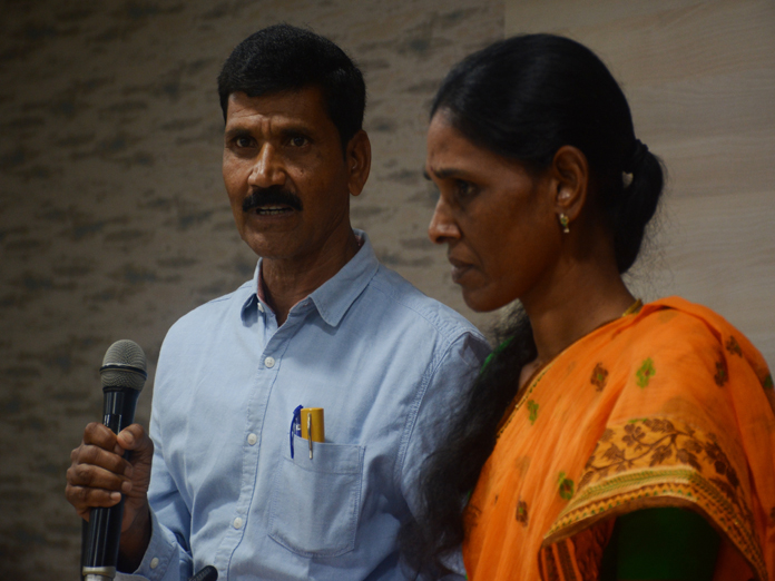 Surrendered couple hail from Telangana State