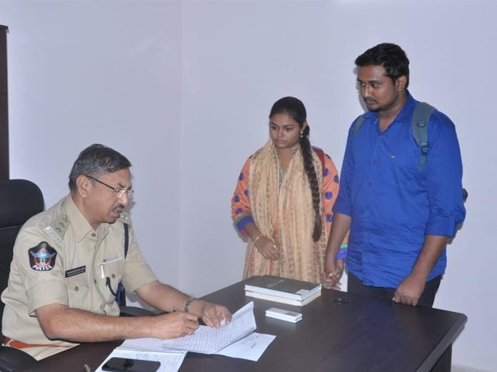 Couple seeks police protection