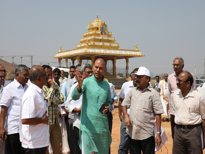 Regular inspection to speed up works: EO Anil Kumar Singhal