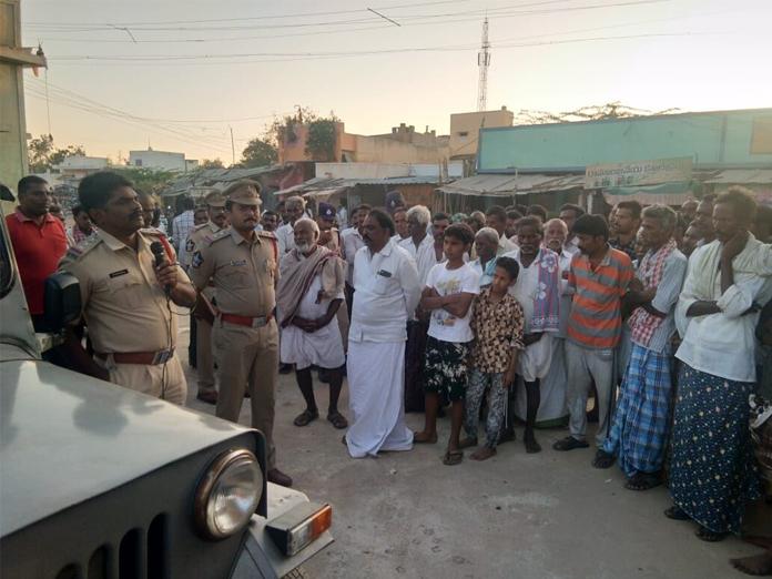 Cops sensitise people on law & order in villages