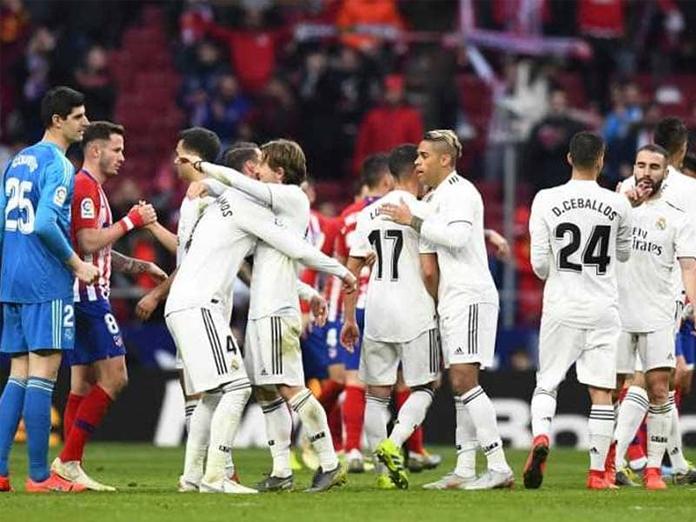 La Liga: Real Madrid jump above rivals Atletico after winning four-goal derby
