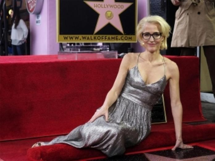 Gillian Anderson celebrates ageing