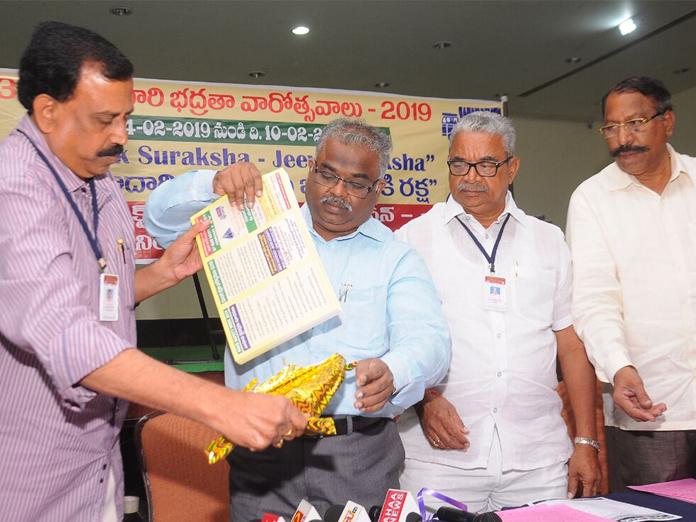 Highway Safety Week launched in Vijayawada