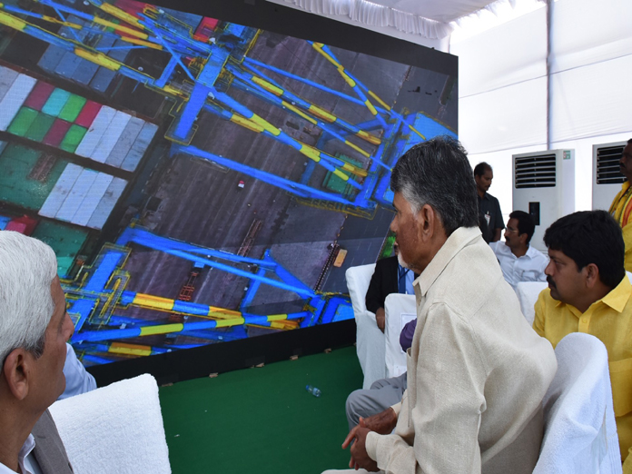 After laying stone, Chandrababu Naidu declares to open Masula Port in two years