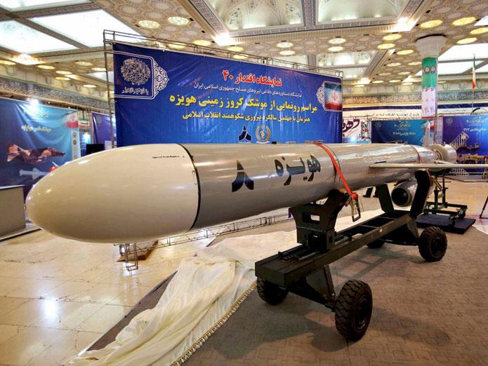Iran tests long-range cruise missile