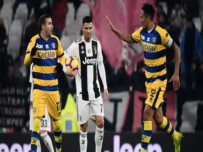Gervinho matches Ronaldo double as Parma frustrate Juventus