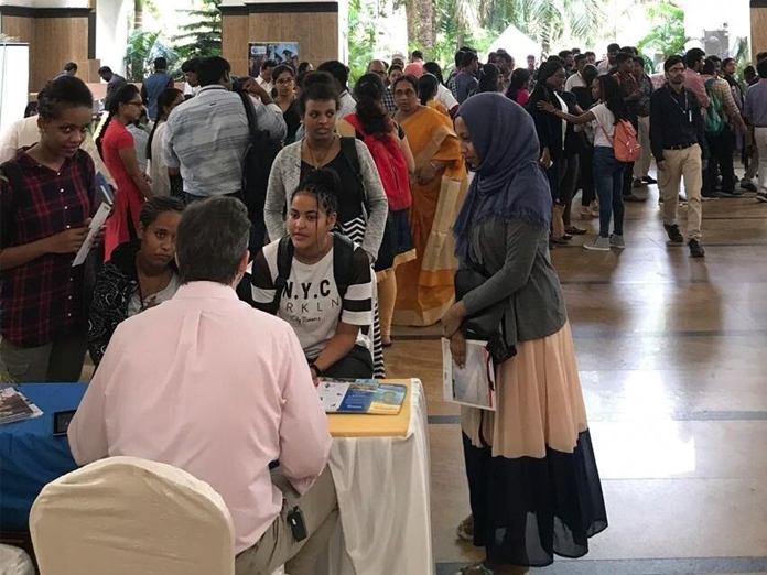 Session on foreign education held in Vijayawada