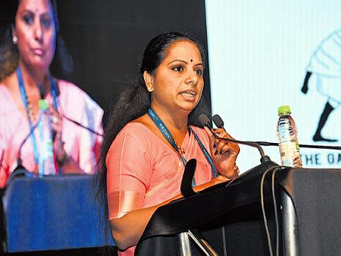MP Kavitha to be a chief speaker at Gender Equality Summit 2019