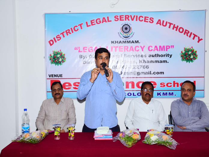 Resonance school conducts awareness meet on Indian laws
