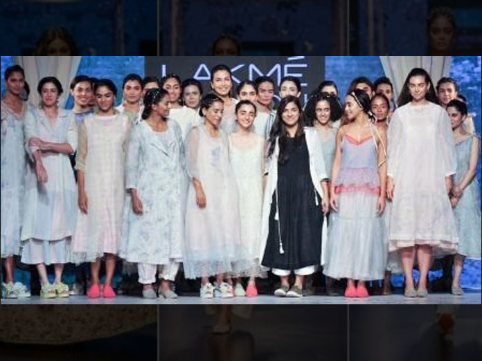 Rina Singh's Ethereal Collection, Presented by Corcal Bone And Beauty At LFW 2019