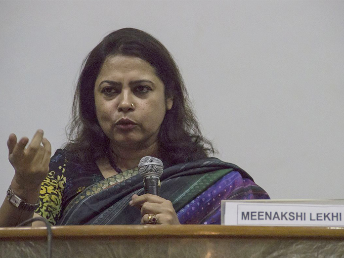 AAP playing 'politics of deception' on electoral rolls: Lekhi in LS