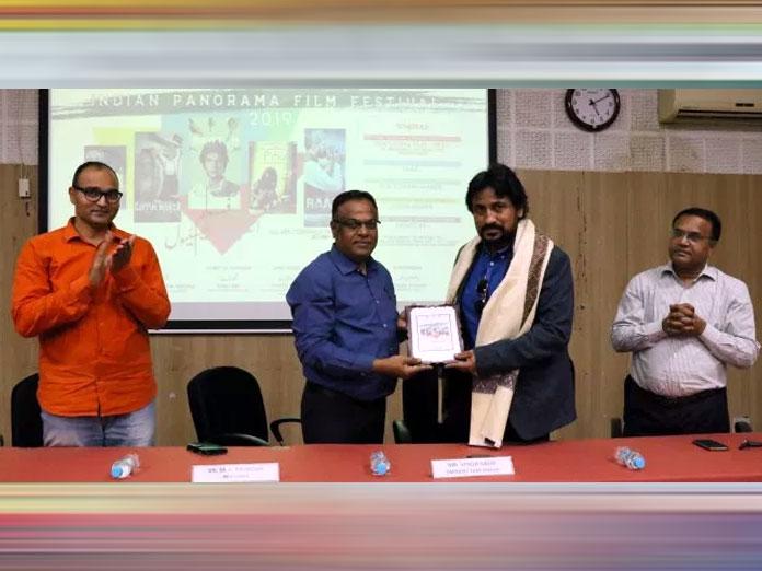 Vinod Kapri inaugurates Film Festival at MANUU