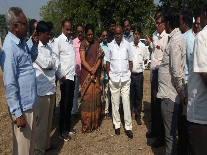 MLA assures residents of solving problems in GS Colony
