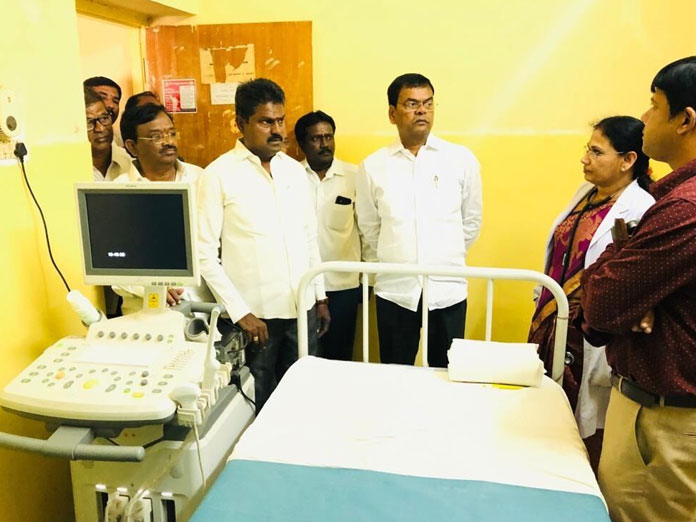MLA inspects government hospital