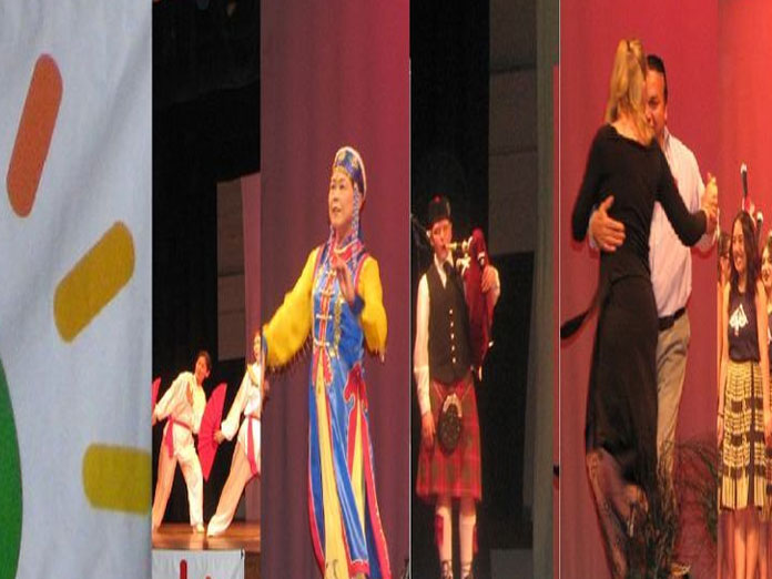Multicultural dance programme today