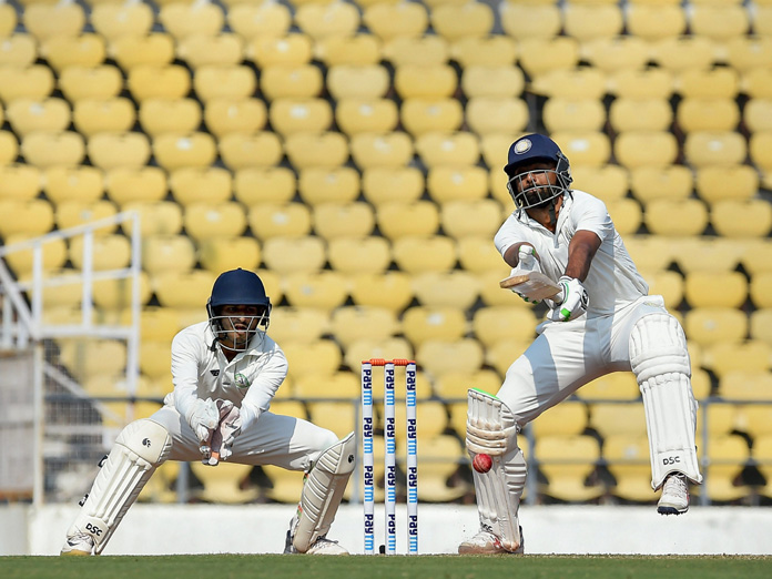 Saurashtra tail battle hard to spice up Ranji Trophy final