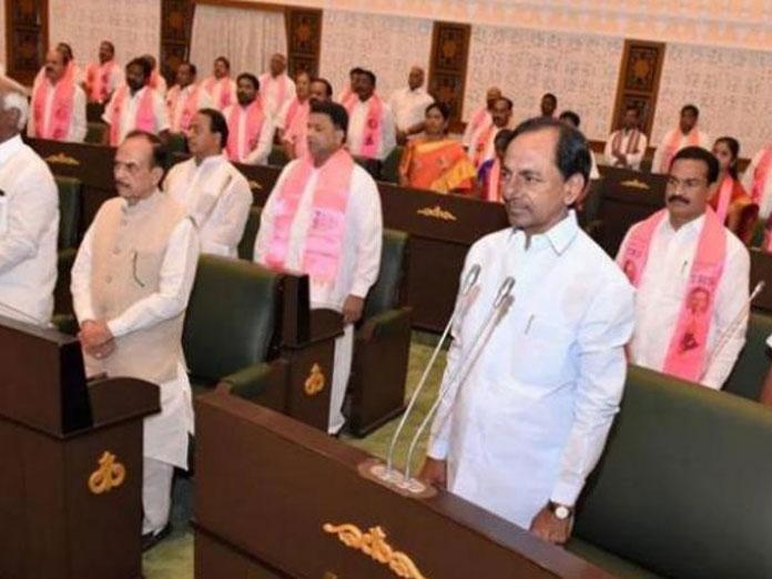 Assembly condoles demise of Baddam Bal Reddy